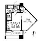 レジディア市ヶ谷 / 1LDK(37.65㎡) 部屋画像1