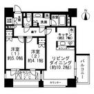 レジディア市ヶ谷 / 2LDK(53.1㎡) 部屋画像1