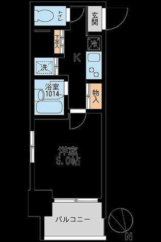 アーデン板橋 / 1K(22.29㎡) 部屋画像1