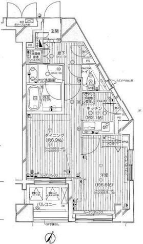 デュオ・スカーラ西麻布タワーEAST / 12 Floor 部屋画像1