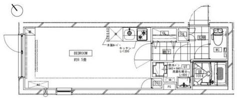LEGALAND MEGURO(リーガランド目黒) / 3階 部屋画像1