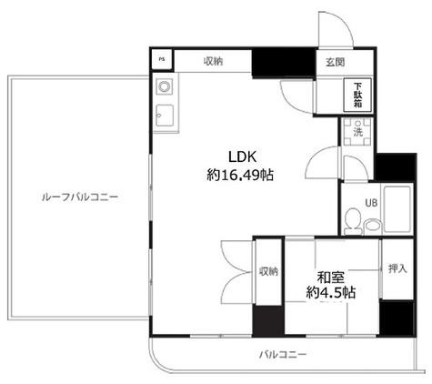 ペルソナージュ横浜 / 1LDK(43.09㎡) 部屋画像1