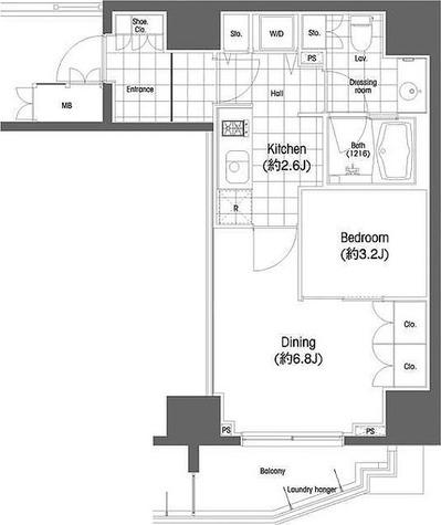 BPRレジデンス恵比寿 / 2階 部屋画像1