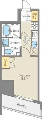 CORNES HOUSE NAGOYA / 1K(27.96㎡) 部屋画像1