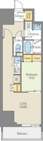 CORNES HOUSE NAGOYA / 1LDK(40.67㎡) 部屋画像1