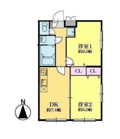 スマートVILLA中延壱番館 / 3階 部屋画像1