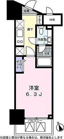 ベルファース高輪桂坂 / 1階 部屋画像1