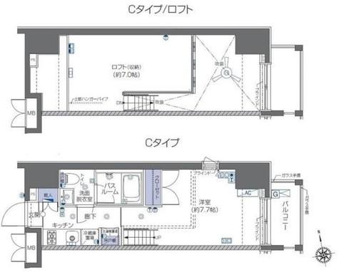 ZOOM六本木 / 7階 部屋画像1