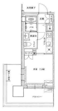 六本木グランドタワーレジデンス / 2 Floor 部屋画像1