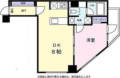 ベルファース麻布十番 / 1階 部屋画像1