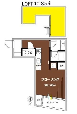 シグマ柿の木坂 / 1階 部屋画像1