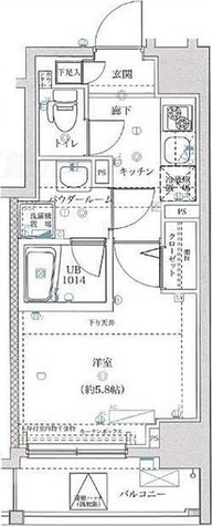 スパシエフルス綱島 / Dタイプ(22.45㎡) 部屋画像1