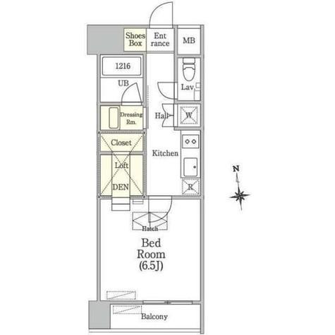 OUAL戸越 / 2階 部屋画像1