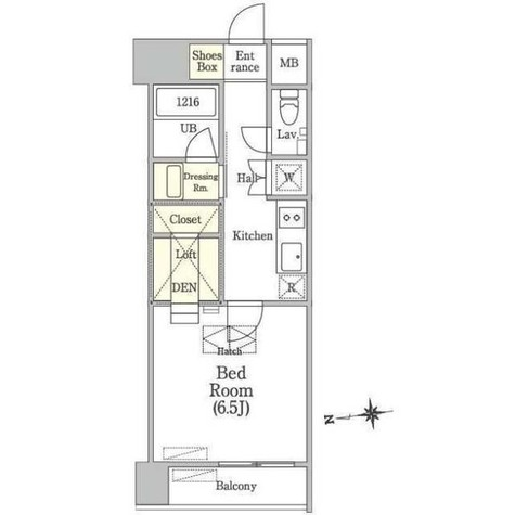 OUAL戸越 / 3階 部屋画像1