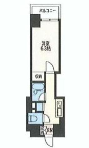 エスティメゾン神田(旧スペーシア神田) / 9階 部屋画像1