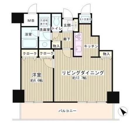 トレステージ目黒 / 804 部屋画像1