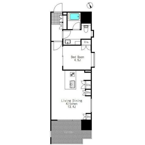 ニューシティアパートメンツ戸越 / 1103 部屋画像1