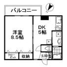 西小山 2分マンション / 302 部屋画像1