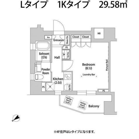 ソアラノーム大岡山 / 604 部屋画像1