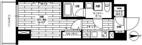 ステージグランデ秋葉原 / 1階 部屋画像1