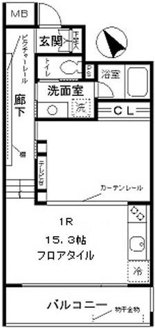 colline白銀 / 1階 部屋画像1