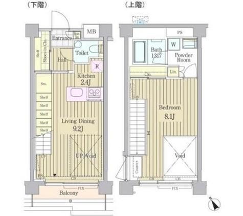 ガーデン原宿 / 4階 部屋画像1