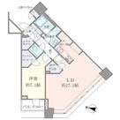 Brillia Towers目黒ノースレジ(ブリリアタワー目黒ノースレジ) / 2404 部屋画像1