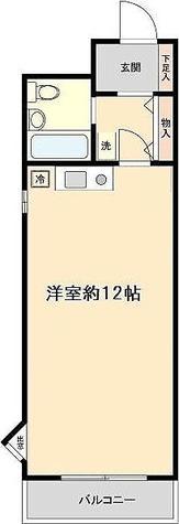 プラス・ワン横浜 / C2タイプ(28.90㎡) 部屋画像1