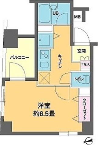 カスタリア新富町3(旧ニューシティレジデンス銀座イーストⅢ) / 2階 部屋画像1