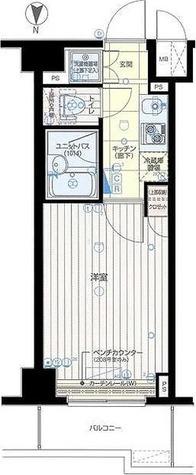 ルーブル蒲田伍番館 / 1K(21.00㎡) 部屋画像1