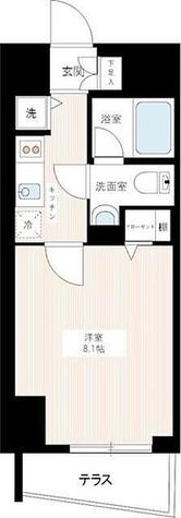 マキシヴ蒲田 / 1 Floor 部屋画像1