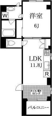 Grand Bleu Komazawa   グランブルー駒沢 / 1LDK(35.88㎡) 部屋画像1