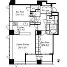 パークキューブ目黒タワー / P-Dタイプ(103.64㎡) 部屋画像1