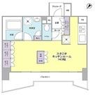 グレンパークG-WEST / ワンルーム(38.03㎡) 部屋画像1