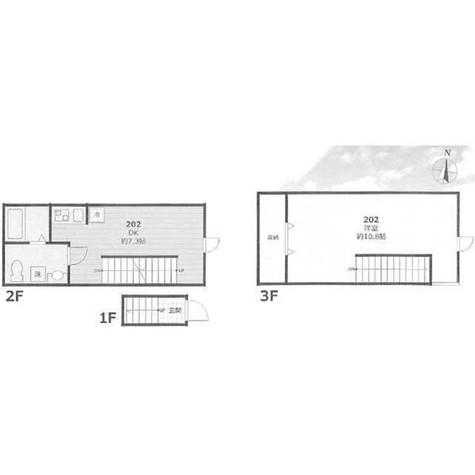 Kewel緑が丘(キューエル緑が丘) / 2階 部屋画像1