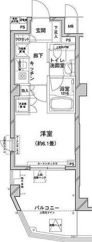 コンフォリア目黒八雲 / 1R(22.84㎡) 部屋画像1