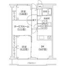 ヒルフォート目黒 / Hタイプ 部屋画像1