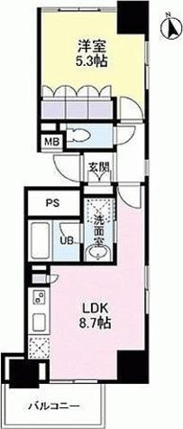スペーシア新宿 / 1LDK(36.25㎡) 部屋画像1