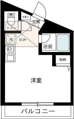 パルク横浜 / 1R(19.08㎡) 部屋画像1