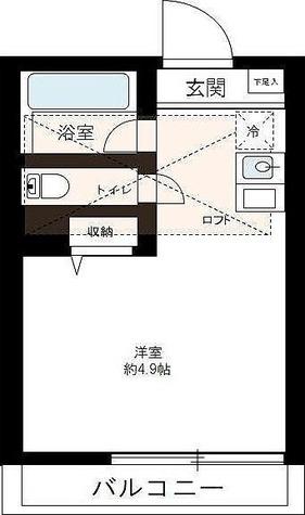 パルク横浜 / 1R(18.70㎡) 部屋画像1