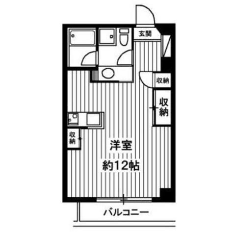 コート鷹番 / 402 部屋画像1