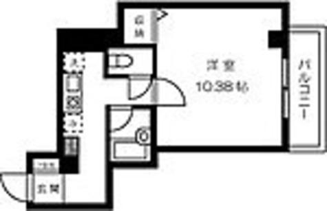 プレジール芝大門 / 1K(33.02㎡) 部屋画像1