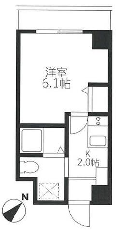 KDXレジデンス小豆沢 / 1K(21.12㎡) 部屋画像1