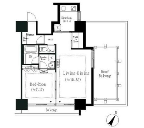 エルスタンザ白金 / 401 部屋画像1