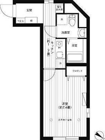イーリス江古田 / 1K(27.06㎡) 部屋画像1
