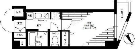 ステージファースト青山 / 305 部屋画像1