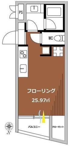 シグマ柿の木坂 / 303 部屋画像1