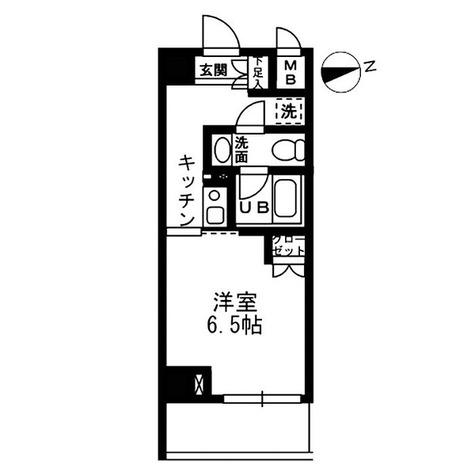 ウィスティリア高津 / 1K(23.00㎡) 部屋画像1