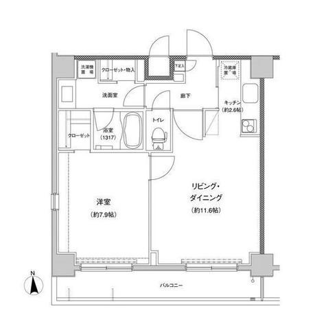東急セットアップレジデンス恵比寿 / 1204 部屋画像1