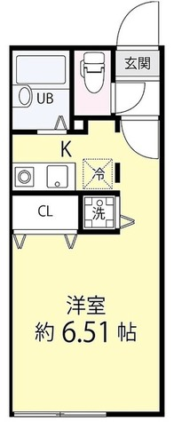 ゼスティ学芸大学(ZESTY学芸大学) / ワンルーム(21.70㎡) 部屋画像1
